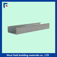 Gypsum ceiling steel C channel steel dimensions