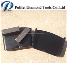 2 Bar Segment 40x10x10mm HTC Tools of Metal Coarse Grinding HTC Grinding Pad for Concrete Floor HTC Grinder