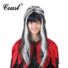 party halloween two tone wig