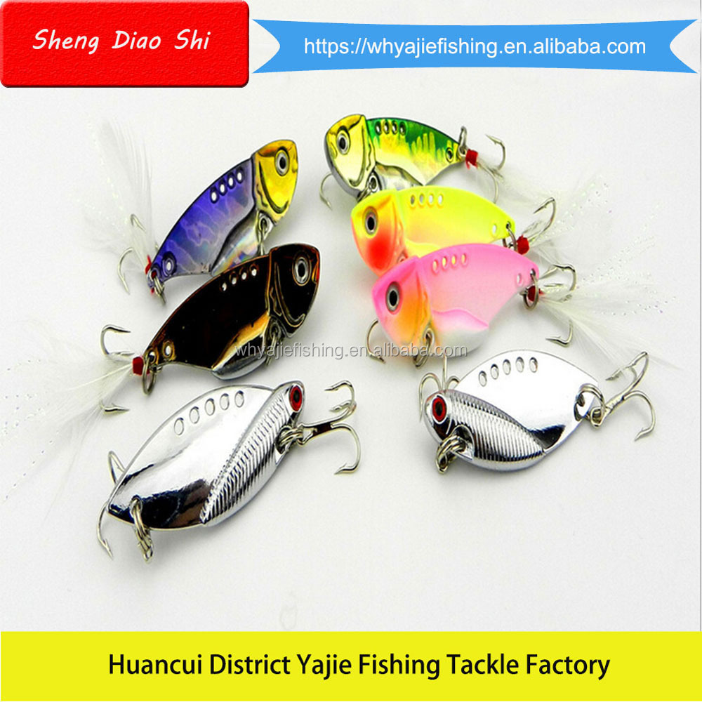Metal Fishing Lure Set 7 Colors Avaliable Good VIB Lures For Fishing