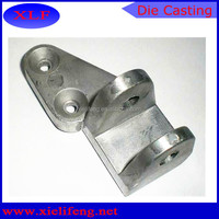 Aluminum Sand Casting with Cast Steel Inserts