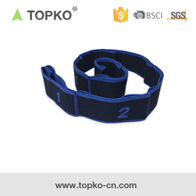 Outdoor Exercise Strap Elastic Stretching Yoga Band With Loops