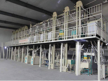 high quality 20-500TPD Modern rice mill machinery plant