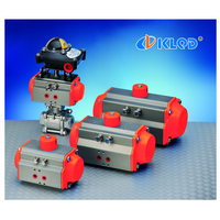 DN50 2 inch size single acting stainless steel pneumatic ball valve