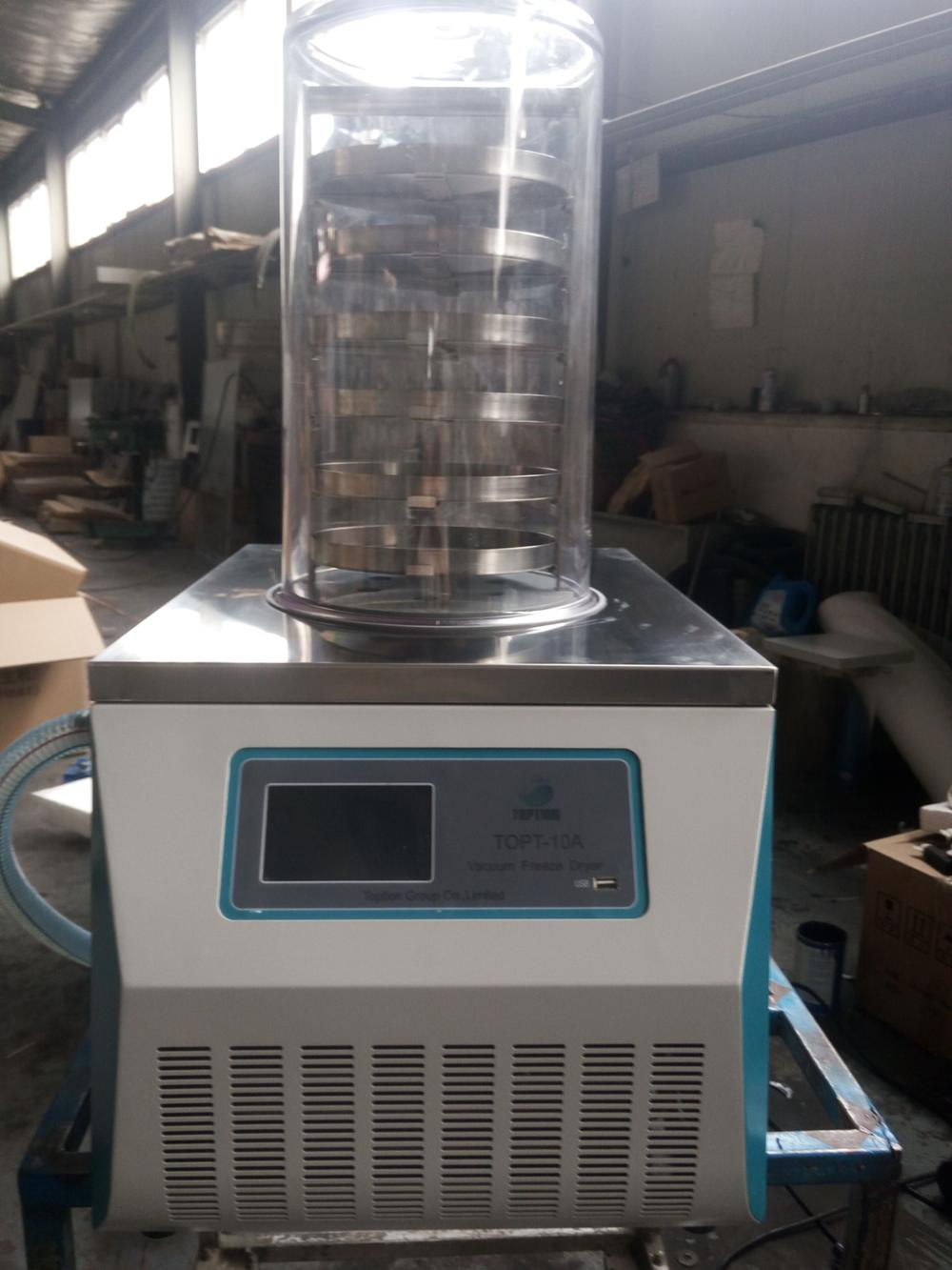 Toption promotional laboratory flower vacuum freeze dryer TOPT-10A