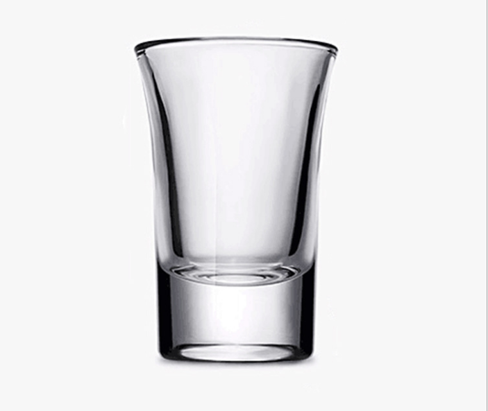 The fine <strong>glass</strong> high penetration bottom of the thick liquor small handleless wine cup a burning <strong>glass</strong> wonton cup tequila <strong>glass</strong>