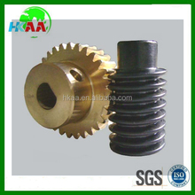 Hot sale custom precision worm and worm gear