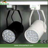 New led window lingts 12w 110v led track spot light with low price