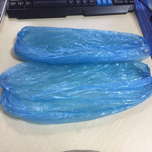 Disposable PE sleeve cover blue 20*40 2.7g