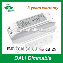 dmx constant current led driver 15w 650mA power supply ac to dc