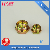 made in china male thread plug with pipe screw 4C-12