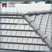 IVON Buliding materials Thai flat Ceramic/porcelain Roof Tile price
