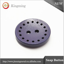 Custom Colored Wood Shirt Buttons For Garment
