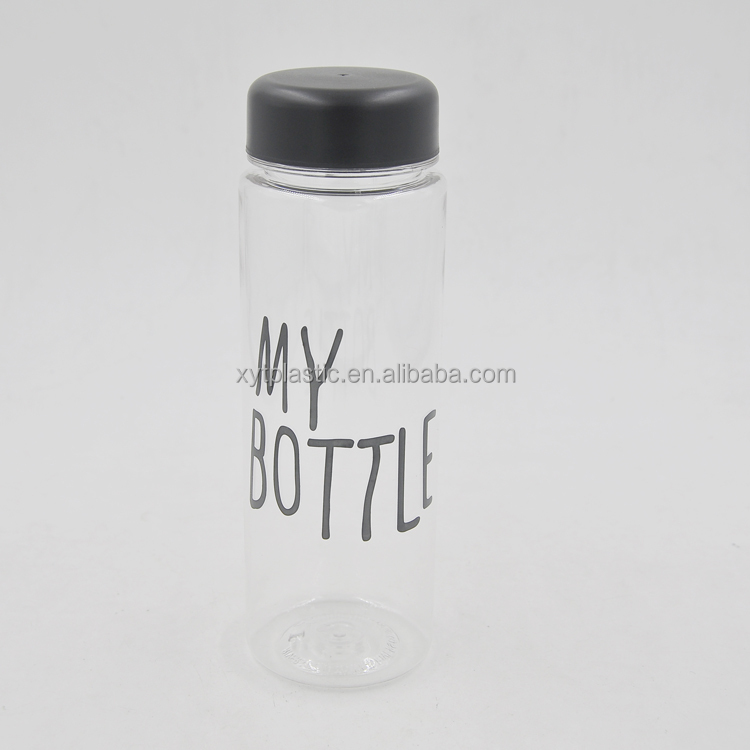 500 ml plastic bottle travel bottle