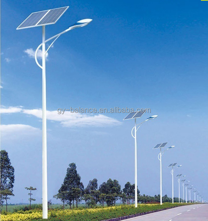 Low professional solar street light price list for India lighting