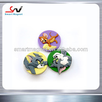 Cheap Price Any shapes Custom promotional 3D soft pvc fridge magnets