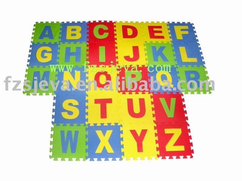 alphabet matten schaum puzzlespiel fu boden matte f r kinder puzzle produkt id 276737595 german. Black Bedroom Furniture Sets. Home Design Ideas