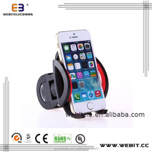 Most models of cell phones, PDAs, GPS,MP4+New design bicycle handle bar phone holder cradle