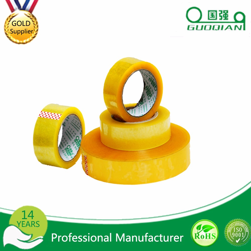 Free Samples Cheap Clear Bopp Box Packing Tape Round Polypropylene Adhesive Tape