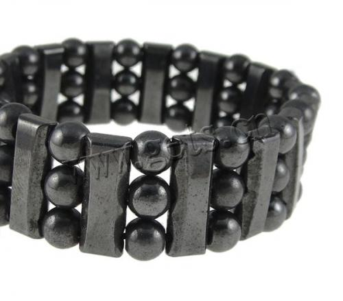 New Healthy hematit Bracelet 18mm Sold Per 7 Inch Strand 707302 magnetic hematite jewelry wholesale