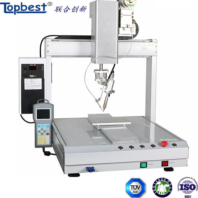 2017 china hot sell selective automatic soldering machine
