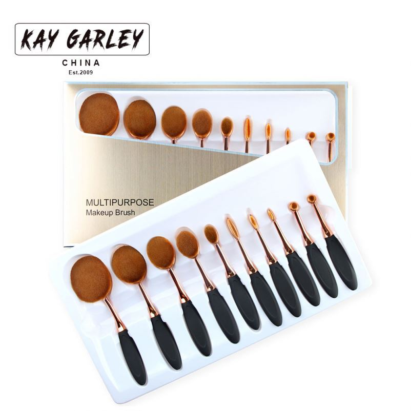 KJL high quality 5 pcs wood handle paint flower nail art pen brush set