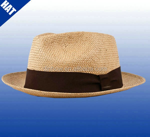 Wholesale hat paper straw chapeau panama
