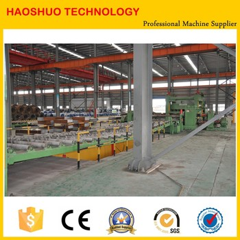 stainless steel iron roll to sheet cutting machine