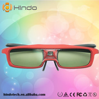 impressive stereoscopic viewing 3d dlp link glasses,active shutter 3d glasses for optoma GT750-XL HD65/GT7000/HD700X 3D Upgrade