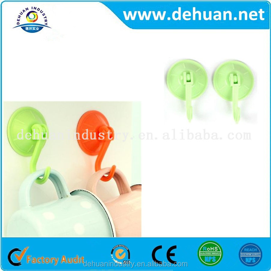Best Seller Heavy Duty PVC Suction Cups New Hanging Hook
