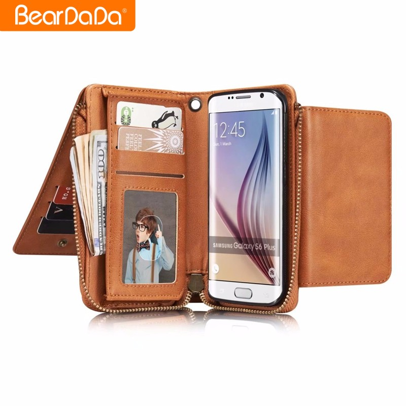 High Quality Design For iphone 7 pu leather case wallet in guangzhou