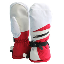 Quality breathable polyester winter mittens for adults