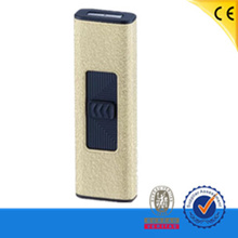 safe lock double sides usb electronic charged lighter windproof cigarette lighter