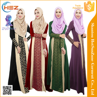 Zakiyyah-MD020 Abaya models dubai popular women long dress muslim jubah 2016 kaftan designs in pakistan
