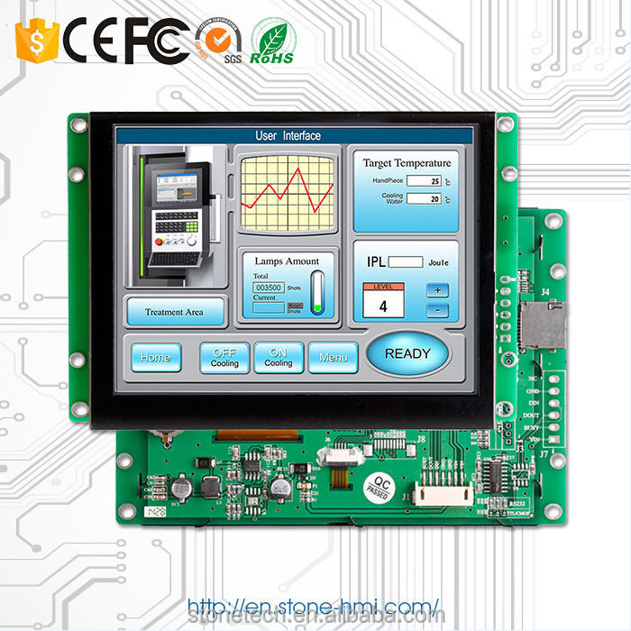 HMI display TFT LCD 5 inch 480*272 with MicroSD Card