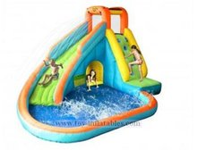 Newest special residential inflatable water slides