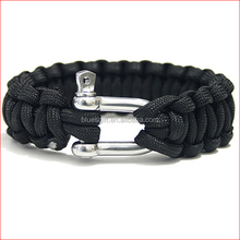 2014 fashion metal charms for paracord bracelets making
