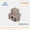 HA-003-F Low Price Industry Silver plated surface 10A 230/400 V 3 Pins Male Insert Connectors