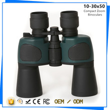 OEM Customized Day and Night Vision Compact Zoom Binoculars 10-30x50 for Outdoor Travel