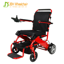 Lightweight disabled hospital CE FDA approved portable easy fold handicapped reclining electric wheelchair