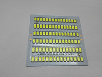 cheap price 12v aluminum 75x75 square 90pcs smd pcb led