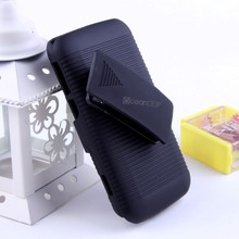 Shell Holster Belt Clip Case With Rotate Kick Stand For Blackberry Q10