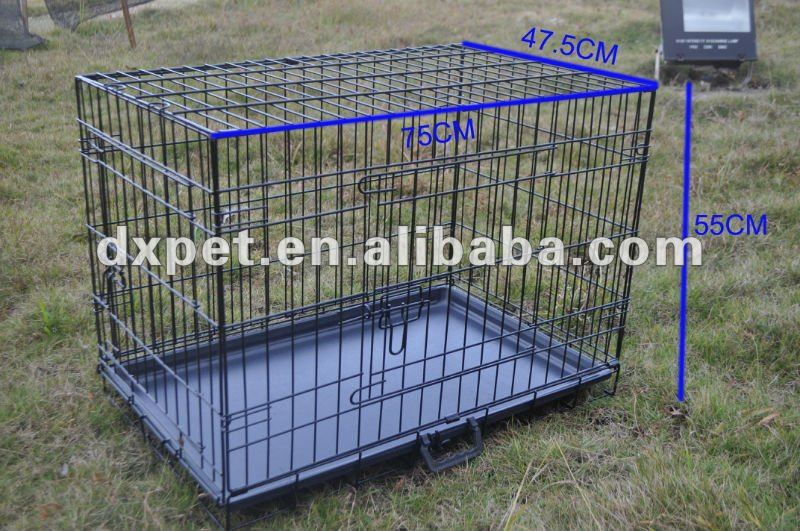 square tube steel dog cage DXW002