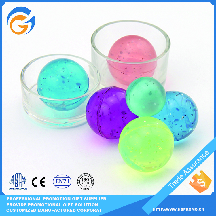 Promotional Style High Bouncing Rubber Ball Toys for Kids