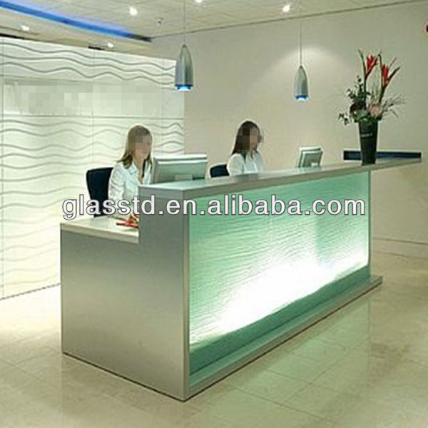48mm Solid Surface Office Reception Table Models Buy Office