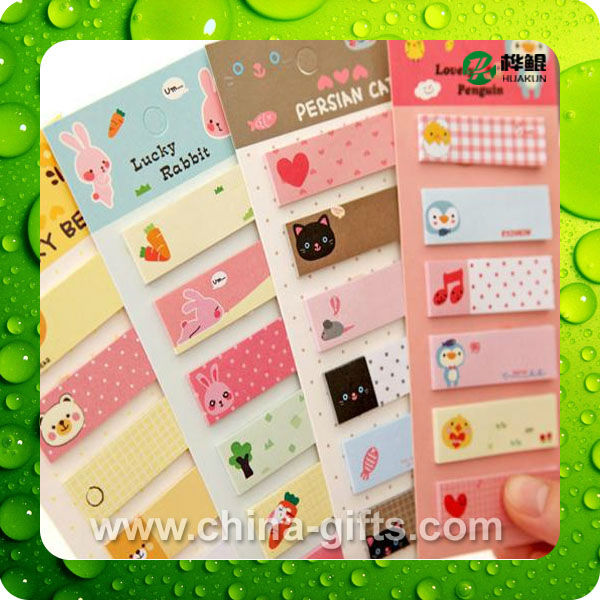 color PET page marker sticky note color film index