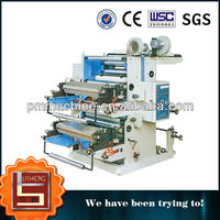 LS YT Series 2 Color Flexo Printing Machine for plastic bag, Film ,nonwoven,paper