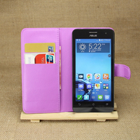 High Quality Leather Flip Case Funky Mobile Phone Case For Asus Zenfone 5