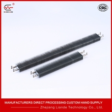 Energy efficient finned heating element Square Fin Electric Heating Element U Shaped electric convector heater