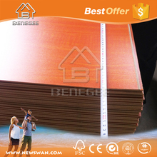MDF Laminated 3mm / MDF Melamine Decorative Boards for Door Skin